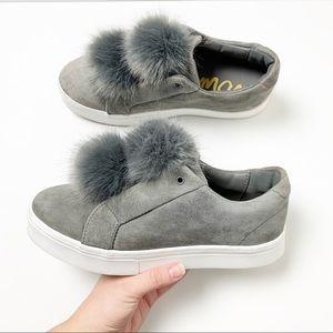 Sam Edelman Leya Pom Pom Platform Sneakers 9.5